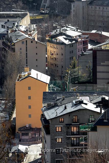 Andorra city view: Encamp, Vall d'Orient, Andorra