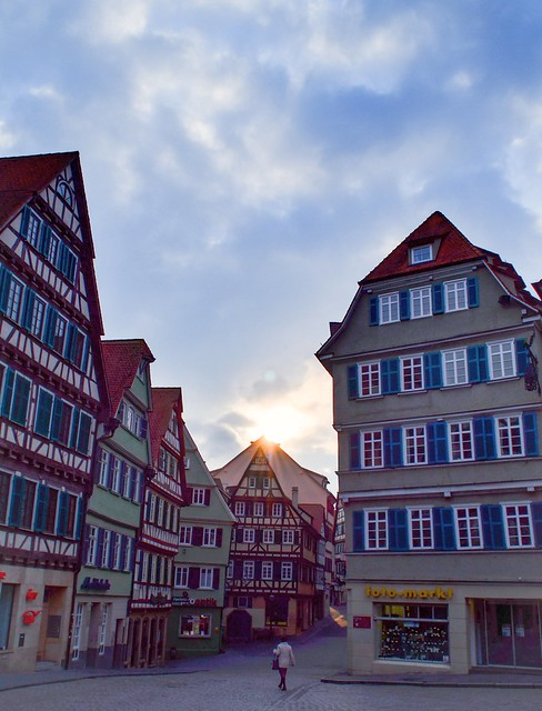 Sunday morning in Tübingen ○ Market place