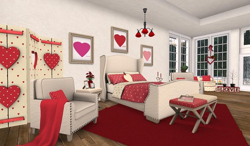 FT I Heart U Bedroom | by Hidden Gems in Second Life (Interior Designer)