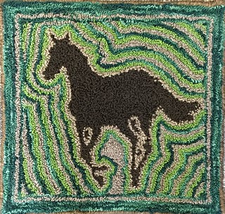 Needle Punch Horse Rug