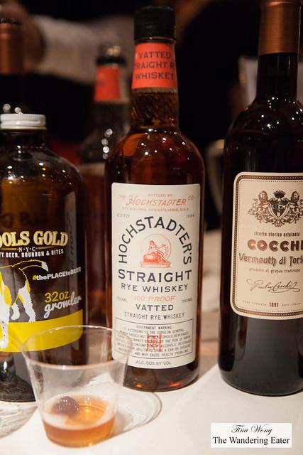 Hochstadter's Straight Rye Whiskey