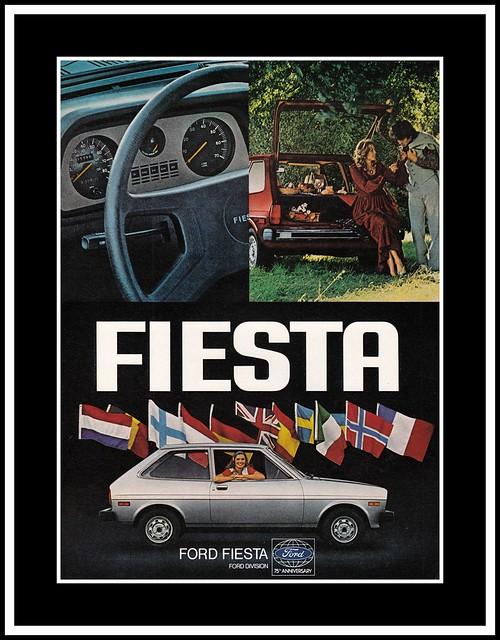 Ford Fiesta, 1977
