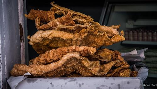 2016 - Mexico - Puebla - Pork Rind on Paper Towel