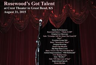 RW Talent Show 2015