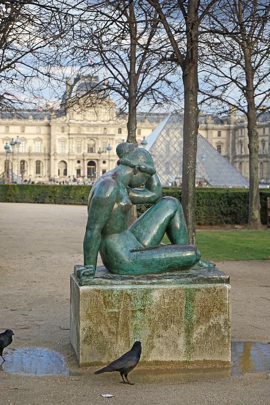 La Méditerranée d'A. Maillol (Jardin des Tuileries, Paris)