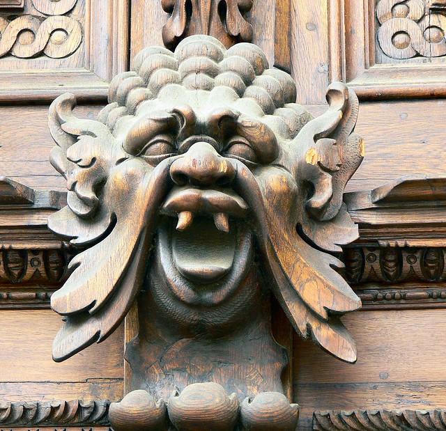 Prague Wall Carvings