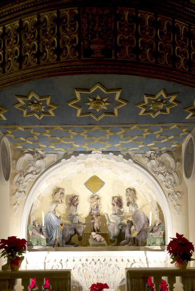 Presepe chiesa di S. Francesco | Il più antico presepe ...