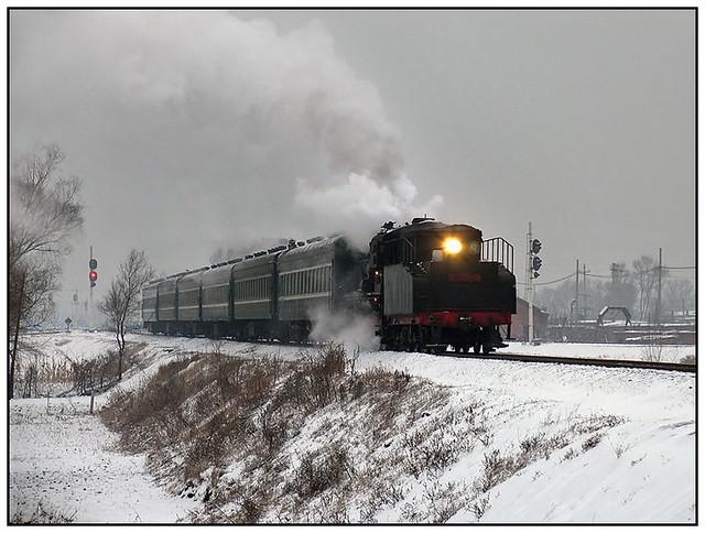Sanjiazi in winter