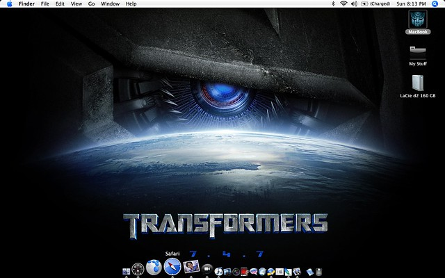 TRANSFORMERS the movie Desktop   FYI: on 7 4 7 I will be at