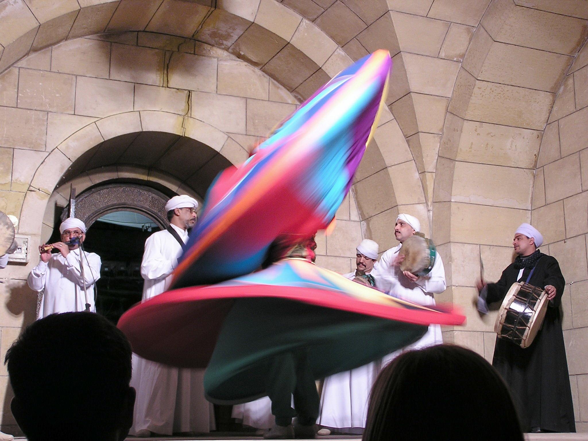 Baile Derviches El Cairo Egipto