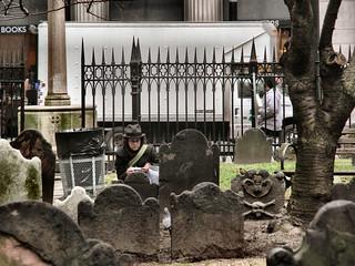 trinity in the trinity church cemetery   by striatic