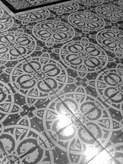 Tiles Black and White | by proper dave