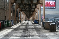 Alley under the El | by repowers