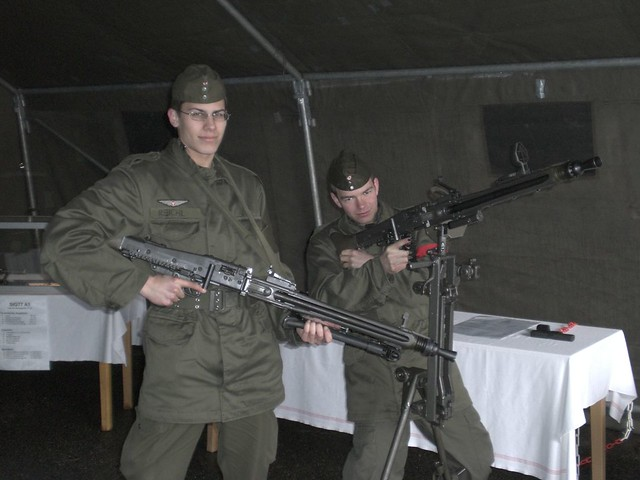 MG 74   2x MG 74 The standart Machinegun  The MG in the back…   Flickr