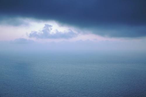 sunset seascape storm clouds dusk stormy lucyspiers