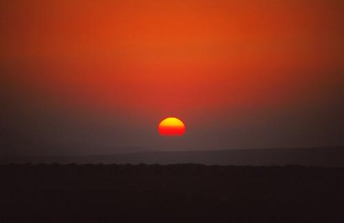 sunset middleeast jordan umqais