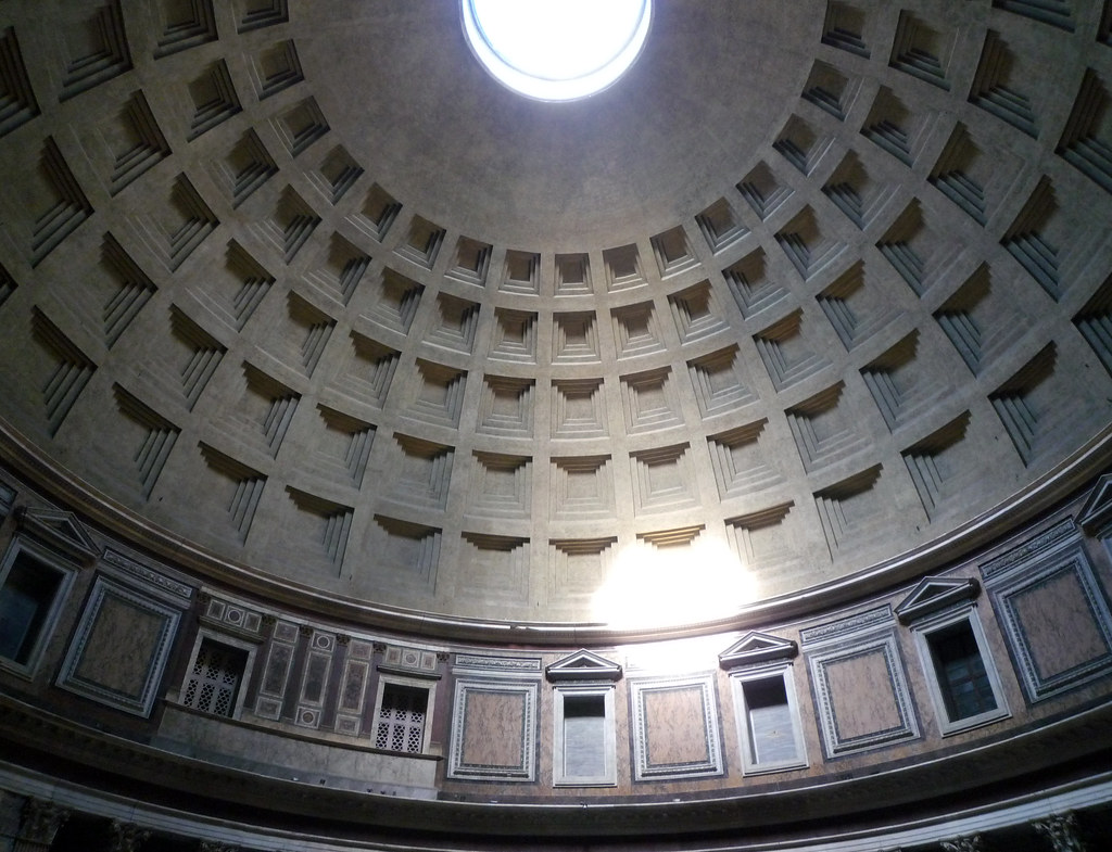 Pantheon Dome The Pantheon Rome C 125 Learn More On