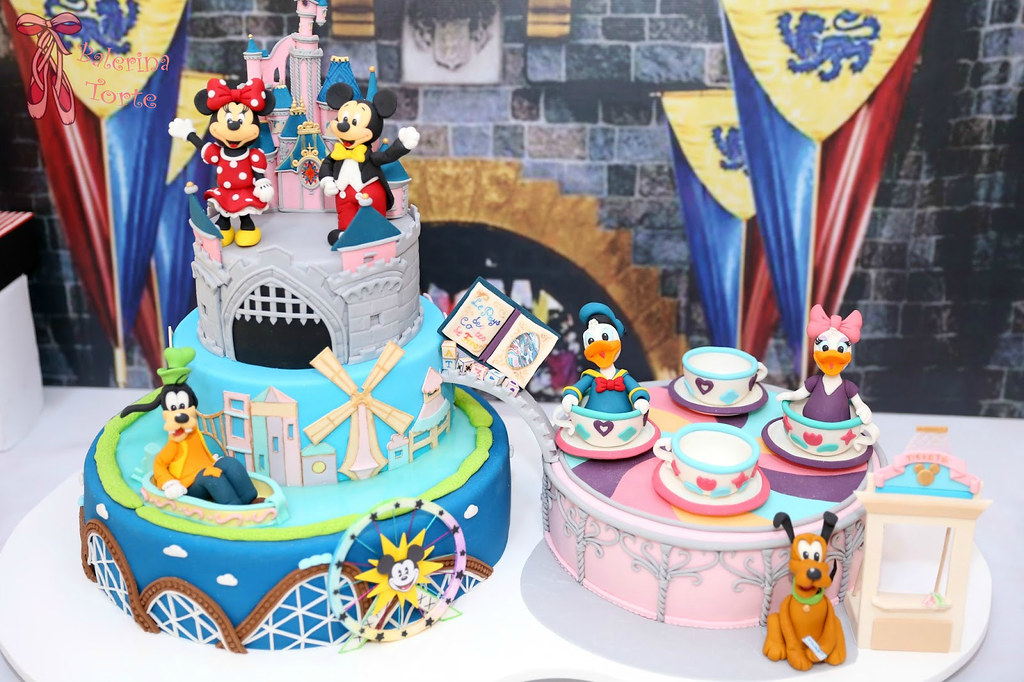Fabulous Disneyland Cake Diznilend Torta By Balerina Torte Jagodi Flickr Funny Birthday Cards Online Bapapcheapnameinfo