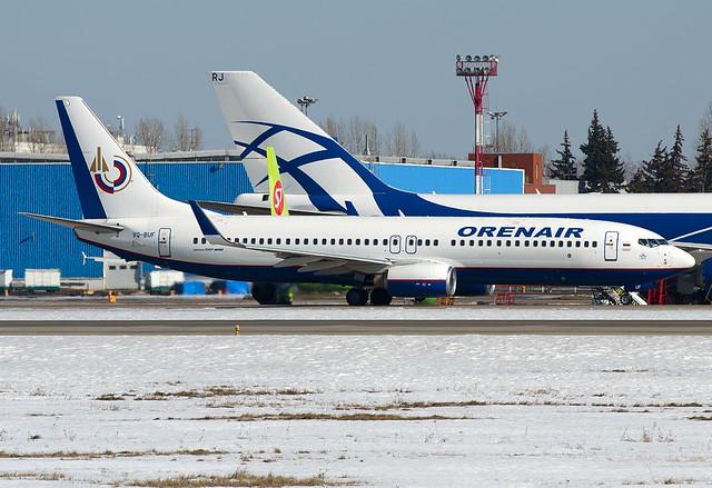 VQ-BUF  Orenair Boeing 737-8GJ
