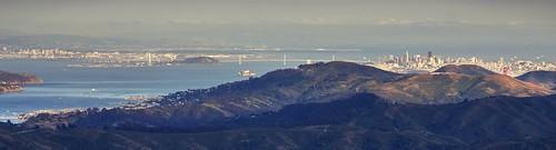 sanfrancisco california panorama mountains skyline oakland raw day outdoor tele sanfranciscobay hdr millvalley mttamalpais photomatix fav100 1xp nex6 sel55210