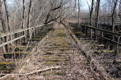 bridges kentohio erielackawanna railroadbridges abandonedrailroads erierailroad