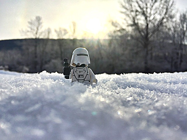 Another star selected to drain, another system must die, and he was out on patrol of the frozen landscape of the StarKiller