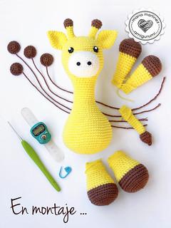 Baby giraffe crochet pattern   Jirafa amigurumi, Patrones ...   320x240