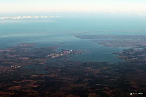 vacation geotagged texas flight aerialview aerial windowseat portlavaca pointcomfort lavacabay zeesstof sanjosédelcabotohouston