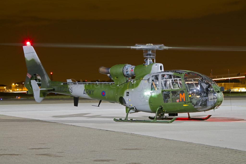 AAC Gazelle AH.1 at Northolt on 18/10/2012