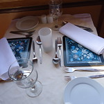 Mon, 04/25/2011 - 16:05 - Tommy set for meals