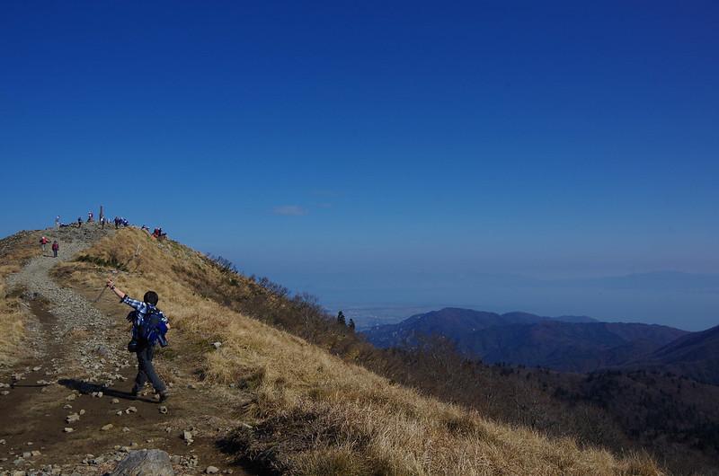 武奈ヶ岳 登山