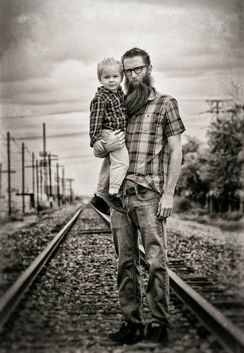 Father son portrait | by marlow@marlowsharpe.com