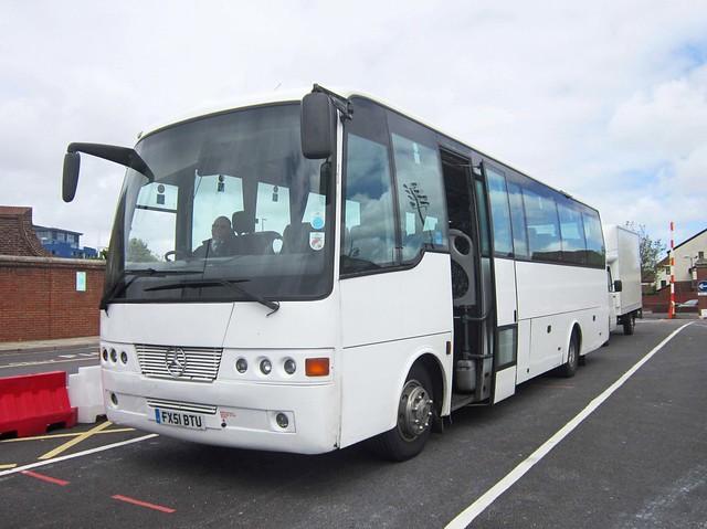 Alpha Travel of Newport, Isle of Wight FX51BTU (front)