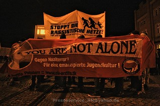 2016.01.16 Rathenow Antifademo gegen rechtsoffenen Aufmarsch (1)