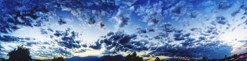 panorama nature skyscape chiangmai eveningsky hdr cloudandsky aroundchiangmai