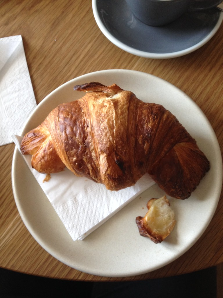 Croissant in the shape of Australia