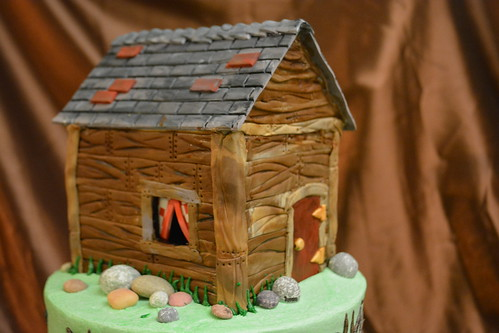 Close up of cabin | by How Sweet It Is Cakes