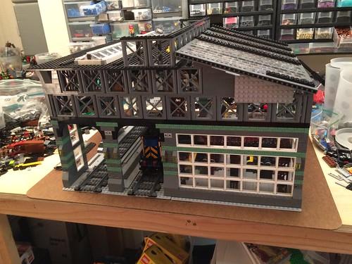 train lego wip railyard moc workshed cowlug denlug