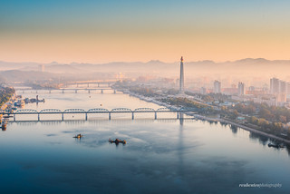Sunrise in Pyongyang City | by reubenteo