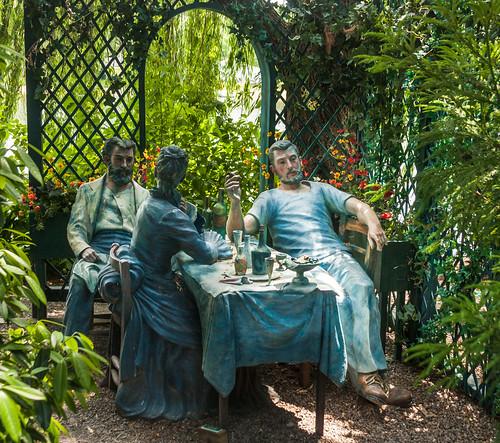 newjersey hamilton renoir groundsforsculpture ontheterrace sewardjohnson ponderingthebenefitsofexercise