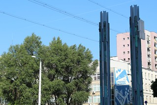 Warszawa - Chłodna footbridge symbol