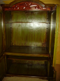 Albanese armoire inside   by Swan Studios Inc