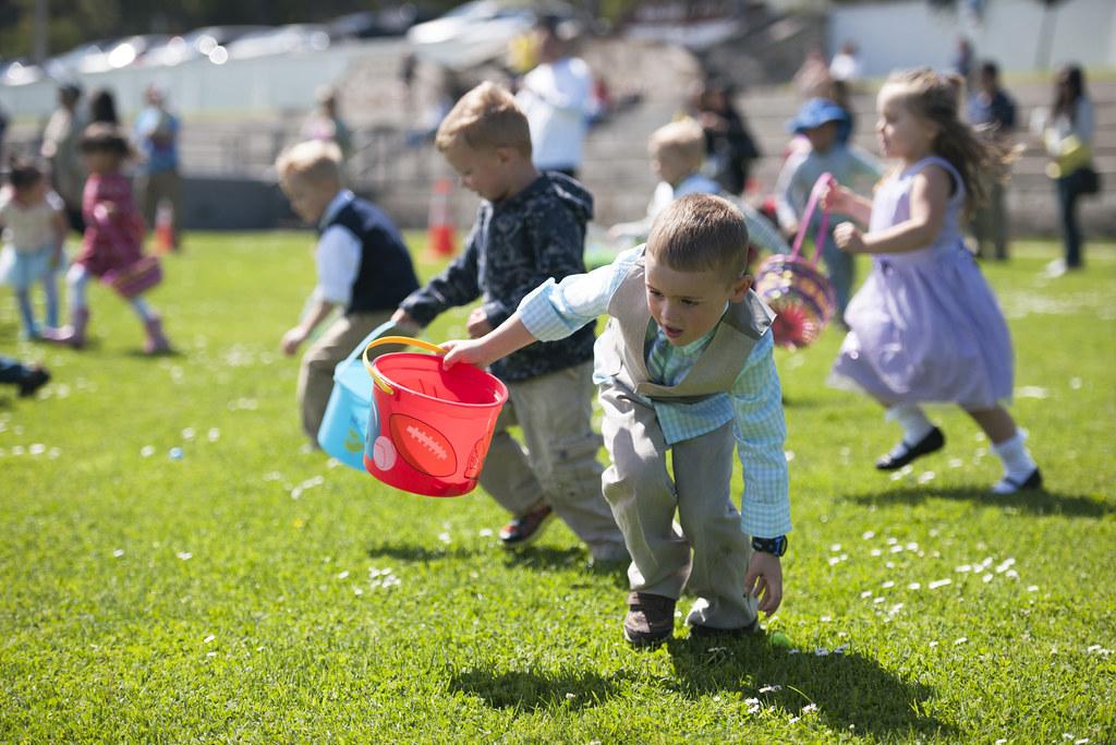 Presidio Easter Egg Hunt