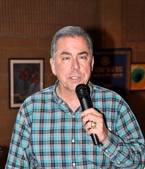 Incoming Club President Scott Tarkenton gave a short power-point presentation about the success of our recent Casino night fund raiser. In 2015 the club netted $12,553. This year the net income was $13,074. All will go to charities the club donates to over the year.