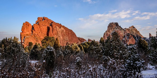 Light Marches On - Garden of the Gods