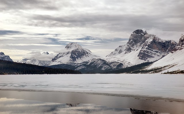 Spring is Coming to the Icefields Parkway (HDR)
