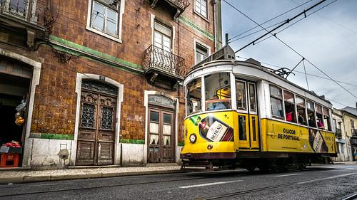 Tram 28 - Lisbon, Portugal - Travel photography   by Giuseppe Milo (www.pixael.com)