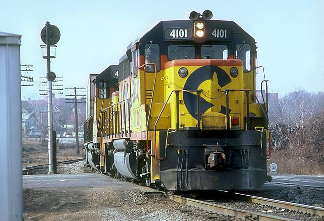 B&O GP40-2 4101