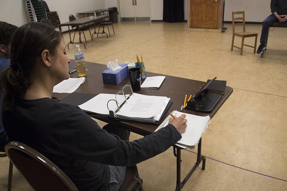 Stage Manager Rita Vreeland