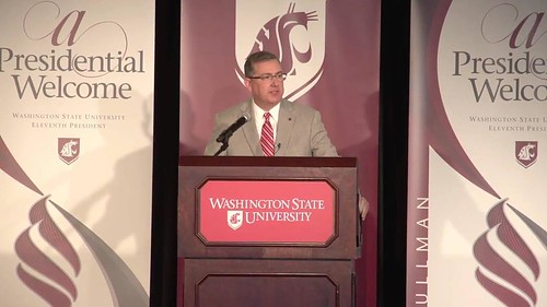 Welcome our 11th  President Kirk Schulz! #WSU #GoCougs
